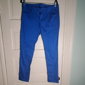 Lilly Pulitzer Worth Brewster Blue Skinny Jeans 8